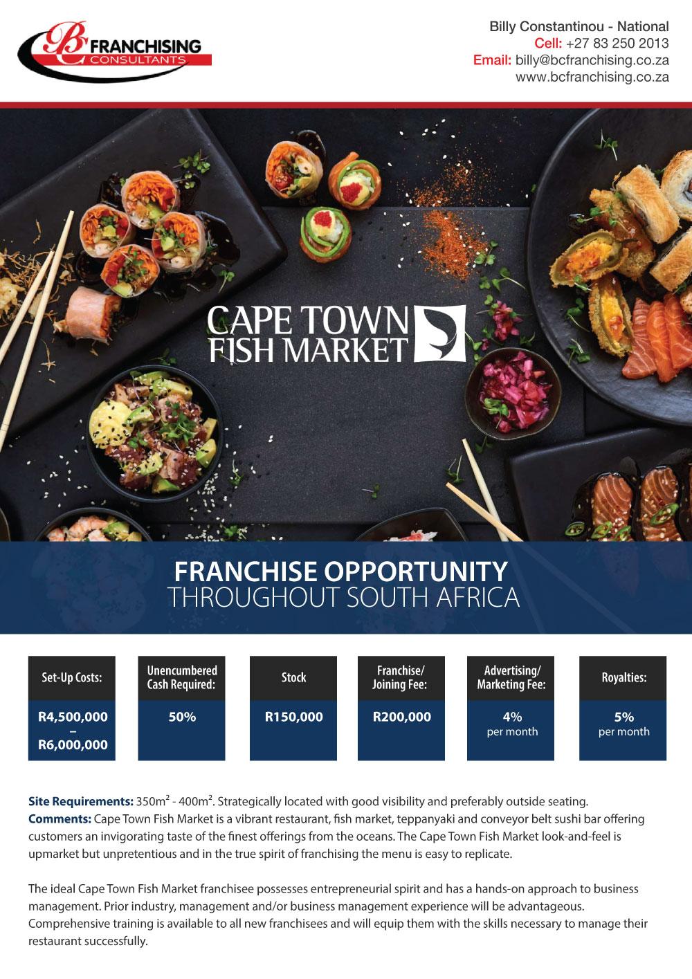 CAPE TOWN FISH MARKET - SOCIAL MEDIA AD 2